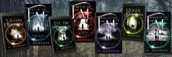Modern Fae book covers